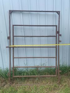 "*52"" gate made with 1"" tubing"