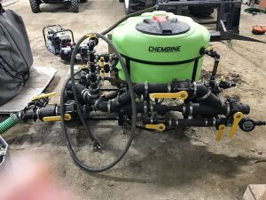 "*3"" Chembine 60-gal chemical mix system"