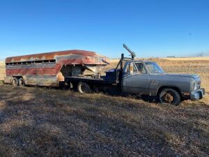 *1992 Dodge 1 ton Dually truck